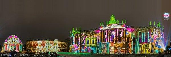 Festival of Lights Berlin - jährliches Lichtkunstfestival im Oktober