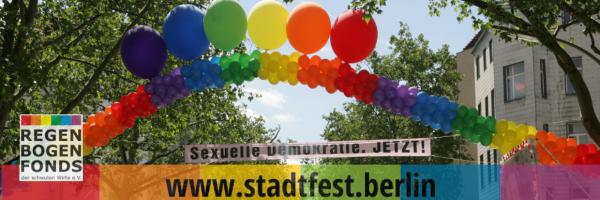 Lesbisch-schwules Stadtfest in Berlin-Schöneberg
