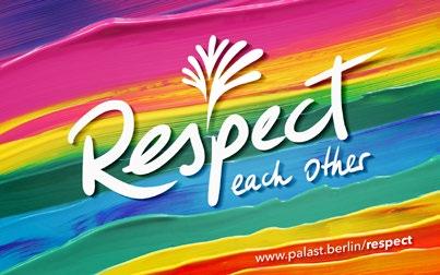 Friedrichstadt-Palast Berlin - Colours of Respect
