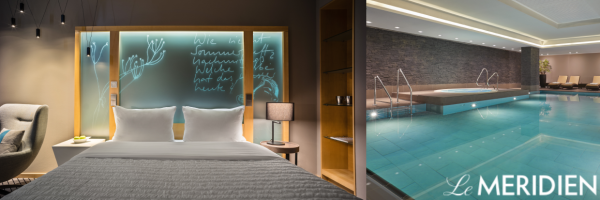 Le Méridien Hotel in Hamburg - Design hotel with pool