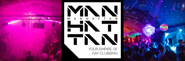 MANHATTAN Gay Event - Gay Party in Hamburg