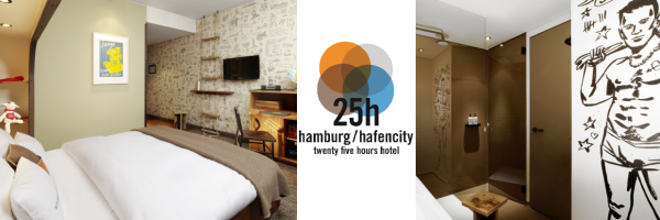 25hours Hotel Hamburg HafenCity - double room Koje M