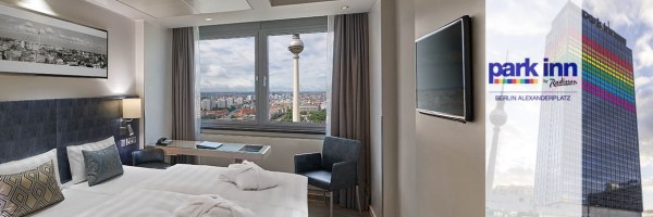 Park Inn Hotel am Alexanderplatz - Double Room with City view
