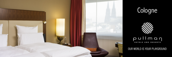 Pullman Hotel in Cologne - Double room