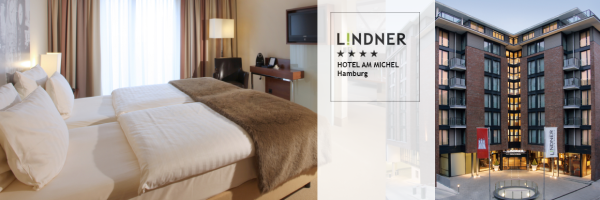 Lindner Hotel Am Michel - gay friendly hotel in Hamburg