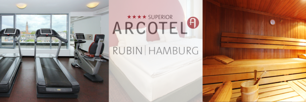 Arcotel Rubin in Hamburg - gay friendly hotel with sauna and fitness