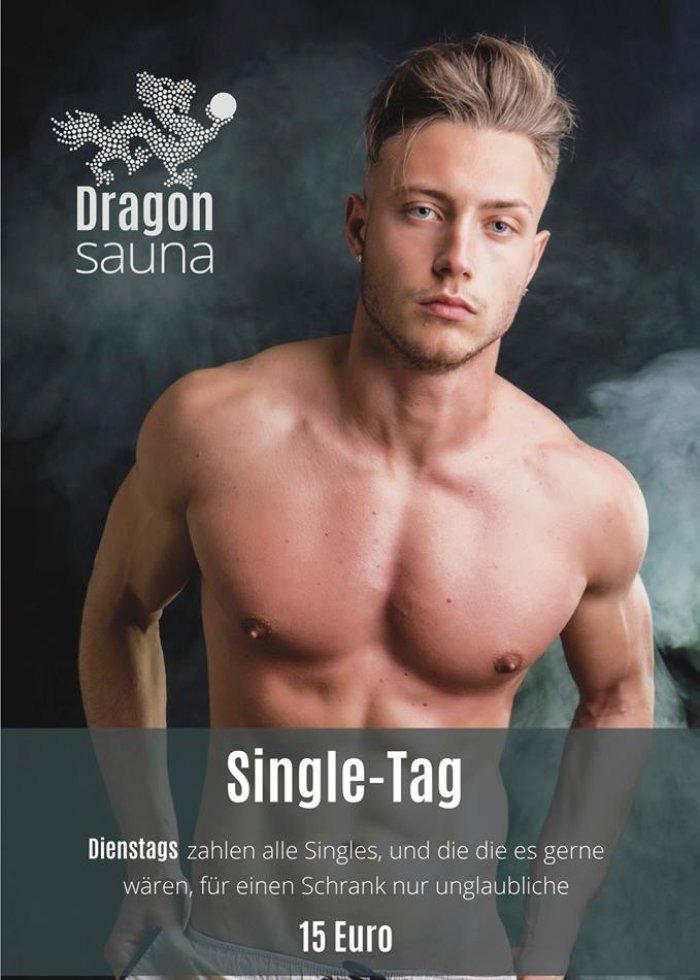Dragon Sauna Hamburg - jeden Dienstag Single-Tag für nur 15€ Eintritt