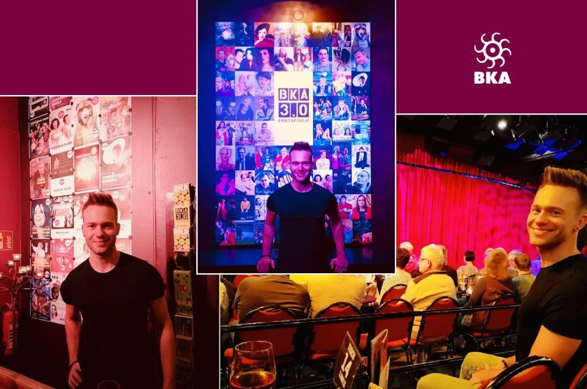 BKA Theater - Tobi tests popular cabaret in Berlin-Kreuzberg