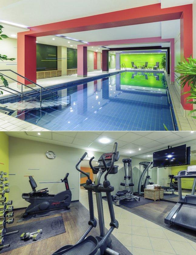 Mercure Hotel in Köln - Fitnessbereich und Pool