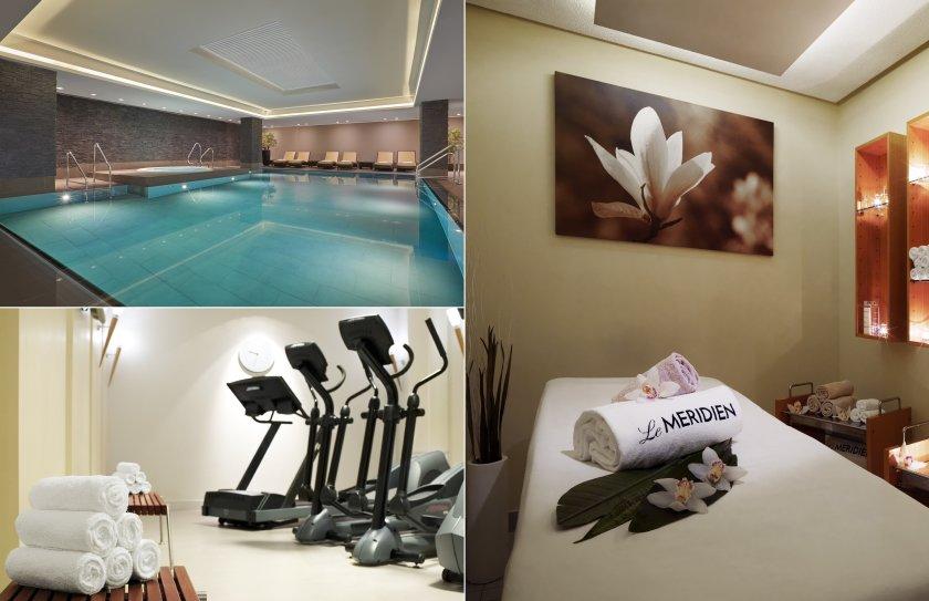 Spa und Wellnessbereich im Le Méridien Hotel in Hamburg