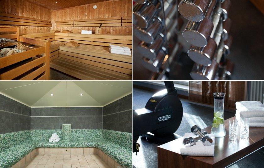 Wellness & Fitnessbereich im Lindner Hotel Am Michel