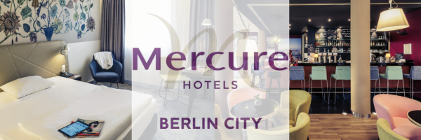 Mercure Hotel Berlin City - Doppelzimmer und Hotel Bar