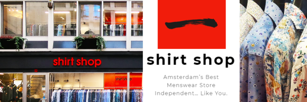 Shirt Shop - Menswear Store for guys in Amsterdam