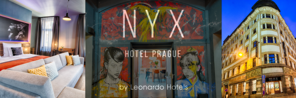 NYX Hotel in Prague - great design hotel in top location