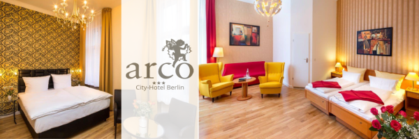 arco City-Hotel Berlin - Premium double room