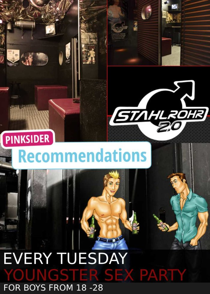Stahlrohr Youngster Sex Party in Berlin - for boys from 18-28