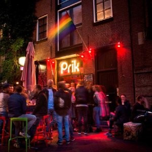 Amsterdam gay bars and cafes