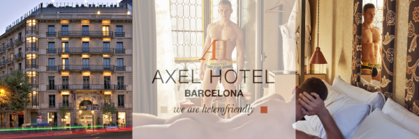 Axel Hotel in Barcelona - Gay Hotel tip on Pinksider