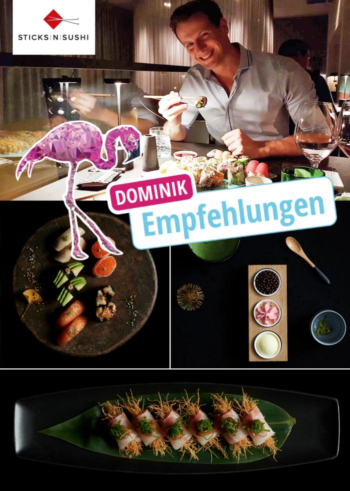Sticks\'n\'Sushi: Dominik testet Berlins Top Sushi Restaurant