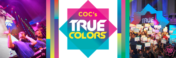 COC's True Colors - Annual charity event of the Dutch LHBTI community