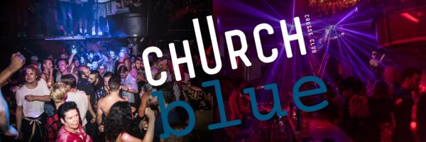 jeden Donnerstag blue - Club Church\'s neue verrückte Klub-Nacht