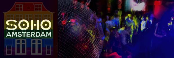 Soho Amsterdam - popular gay bar in Reguliersdwarsstraat
